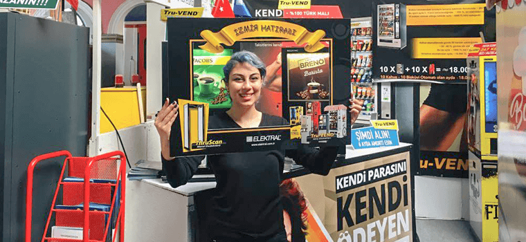 vending machines tea festival
