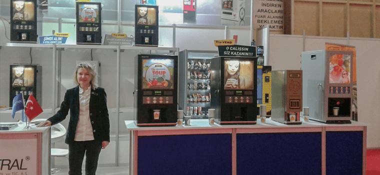 horeca festival elektral vending machine