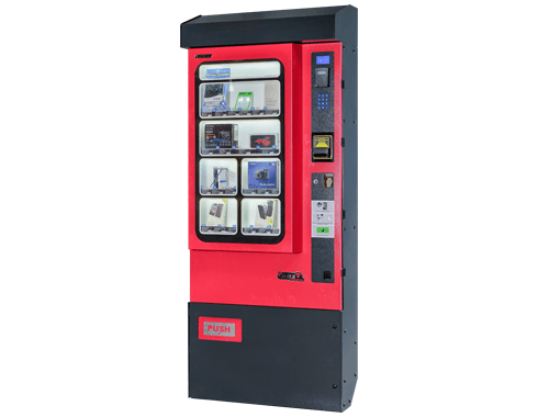 mobile accessories vending machine elektral