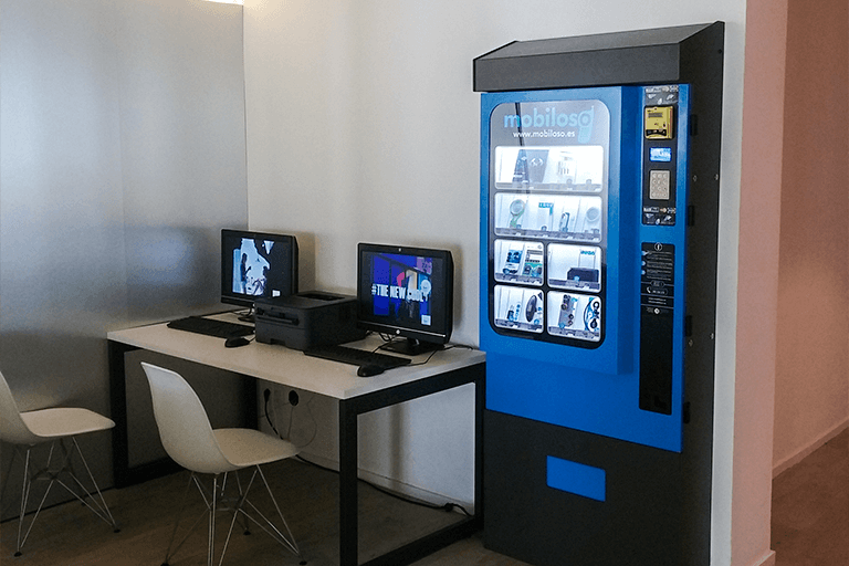smartphone vending machine