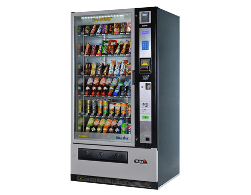 combo snack and drink vending machine