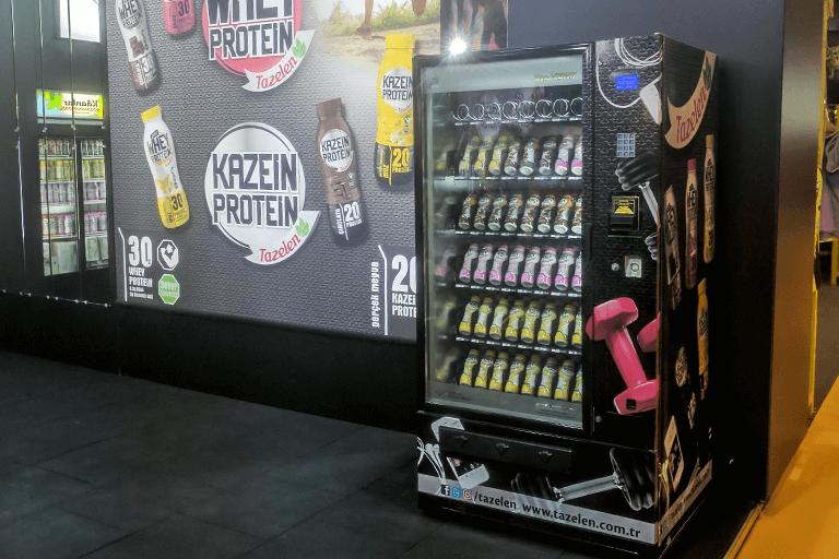 soda vending machine gyms